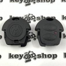 Корпус верхней части автоключа Volkswagen (Фольксваген) 2 кнопки, тип 1
