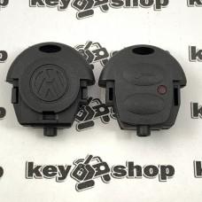 Корпус верхней части автоключа Volkswagen (Фольксваген) 2 кнопки, тип 2