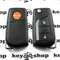 Универсальный автоключ для программатора XHorse, Wireless (XKTO01EN) 2 кнопки