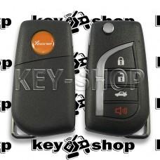Универсальный автоключ для программатора XHorse (XKTO10EN) 3 + 1 кнопки