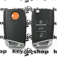 Универсальный автоключ для программатора XHorse (XSMQB1EN) 3 кнопки