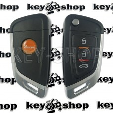 Универсальный автоключ для программатора XHorse (XKKF02EN) 3 кнопки