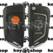 Универсальный автоключ для программатора XHorse (XKCD02EN) 3 + 1 кнопки