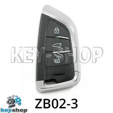 Ключ заготовка (ZB02-3) для программатора KEYDIY (KD-X2, KD900, KD900+, KD MINI)