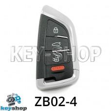 Ключ заготовка (ZB02-4) для программатора KEYDIY (KD-X2, KD900, KD900+, KD MINI)