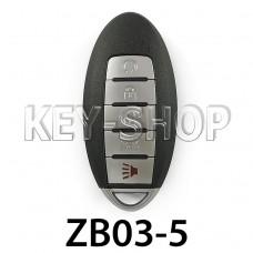 Ключ заготовка (ZB03-5) для программатора KEYDIY (KD-X2, KD900, KD900+, KD MINI)
