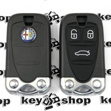 Корпус смарт ключа для Alfa Romeo (Альфа Ромео) 3 - кнопки