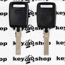 Корпус авто ключа под чип для AUDI (Ауди),лезвие HU66