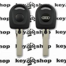 Корпус автоключа под чип для AUDI (Ауди) лезвие HU66