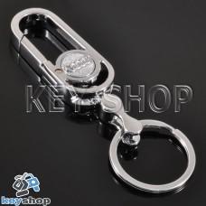 Металлический брелок для авто ключей Audi (Ауди)