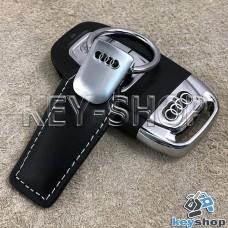 Кожаный брелок для авто ключей Audi (Ауди)