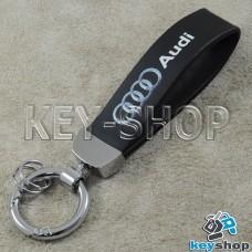 Каучуковый брелок с карабином для авто ключей Audi (Ауди)