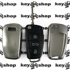 Чехол (полиуретановый) для выкидного ключа Audi (Ауди)