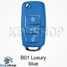 Ключ заготовка (B01 luxury blue) для программатора KD900, KD900+, KD mini