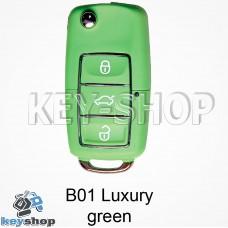 Ключ заготовка (B01 luxury green) для программатора KD900, KD900+, KD mini