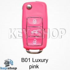 Ключ заготовка (B01 luxury pink) для программатора KD900, KD900+, KD mini