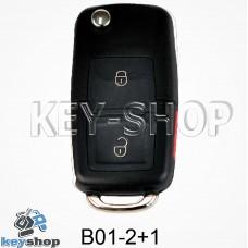 Ключ заготовка (B01 - 2 + 1) для программатора KD900, KD900+, KD mini