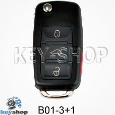 Ключ заготовка (B01 - 3 + 1) для программатора KD900, KD900+, KD mini