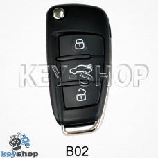 Ключ заготовка (B02) для программатора KD900, KD900+, KD mini
