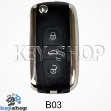 Ключ заготовка (B03) для программатора KD900, KD900+, KD mini