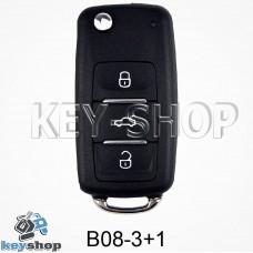 Ключ заготовка (B08 - 3 + 1) для программатора KD900, KD900+, KD mini