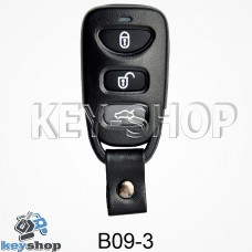 Ключ заготовка (B09 - 3) для программатора KD900, KD900+, KD mini
