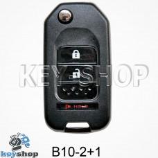 Ключ заготовка (B10 - 2 + 1) для программатора KD900, KD900+, KD mini