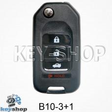 Ключ заготовка (B10 - 3 + 1) для программатора KD900, KD900+, KD mini