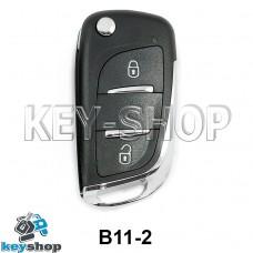 Ключ заготовка (B11-2) для программатора KD900, KD900+, KD mini, KD-X2