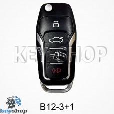 Ключ заготовка (B12 - 3 + 1) для программатора KD900, KD900+, KD mini