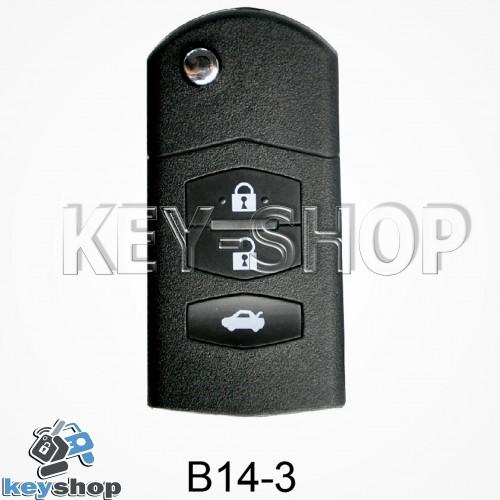 Ключ заготовка (B14 - 3) для программатора KD900, KD900+, KD mini
