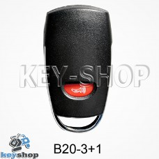 Ключ заготовка (B20 - 3 + 1) для программатора KD900, KD900+, KD mini