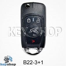 Ключ заготовка (B22 - 3 + 1) для программатора KD900, KD900+, KD mini