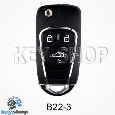 Ключ заготовка (B22 - 3) для программатора KD900, KD900+, KD mini