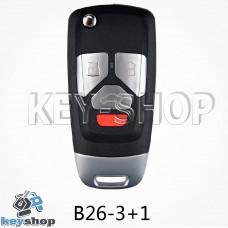 Ключ заготовка (B26 - 3 + 1) для программатора KD900, KD900+, KD mini