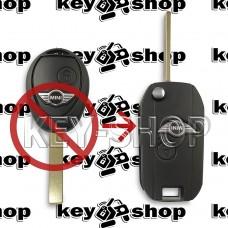 Корпус автоключа Mini (Мини) - 2 кнопки (под переделку)
