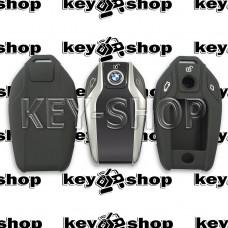 Чехол (черный, силиконовый) для смарт ключа BMW (БМВ)
