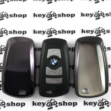 Чехол (силиконовый) для смарт ключа BMW (БМВ) 4 кнопки
