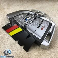 Металлический брелок для авто ключей BMW M (БМВ M)