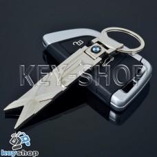 Металлический брелок для авто ключей BMW (БМВ)