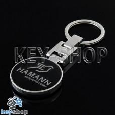 Металлический брелок для авто ключей HAMANN (Хаманн)