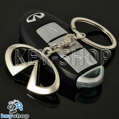 Металлический брелок для авто ключей INFINITI (Инфинити)