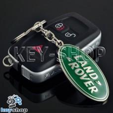 Металлический брелок для авто ключей LAND ROVER (Ленд Ровер)