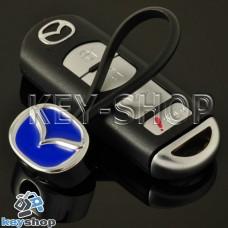 Металлический брелок для авто ключей  MAZDA (Мазда)