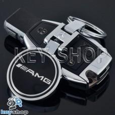 Металлический брелок для авто ключей MERCEDES-AMG (Мерседес-AMG)