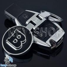 Металлический брелок для авто ключей Mercedes Brabus (Мерседес Брабус)