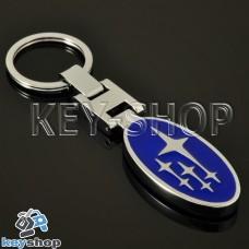 Металлический брелок для авто ключей Subaru (Субару)
