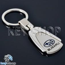 Металлический брелок для авто ключей Субару (Subaru)