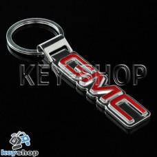 Металлический брелок для авто ключей GMC