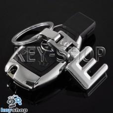 Металлический брелок для авто ключей Mercedes E-Class (Мерседес E-Класс)